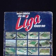 Álbum de fútbol completo: ALBUM CROMOS LIGA 89-90. Lote 151609346
