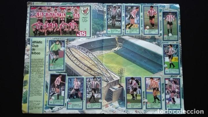 Álbum de fútbol completo: ALBUM CROMOS LIGA 89-90 - Foto 4 - 151609346