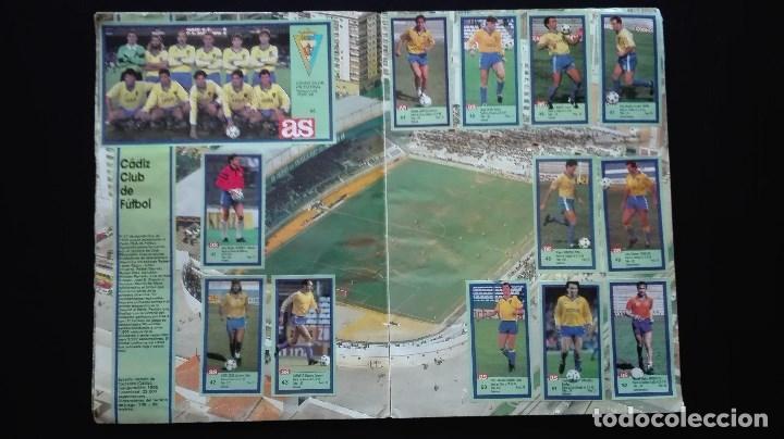 Álbum de fútbol completo: ALBUM CROMOS LIGA 89-90 - Foto 6 - 151609346