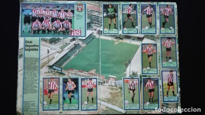 Álbum de fútbol completo: ALBUM CROMOS LIGA 89-90 - Foto 9 - 151609346