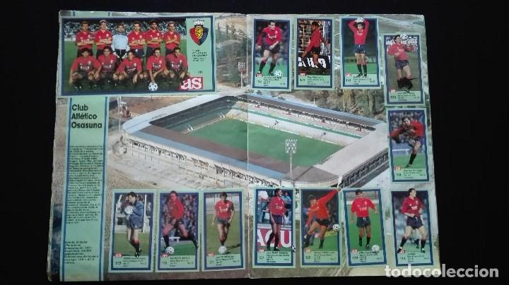 Álbum de fútbol completo: ALBUM CROMOS LIGA 89-90 - Foto 12 - 151609346