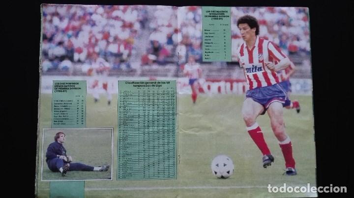Álbum de fútbol completo: ALBUM CROMOS LIGA 89-90 - Foto 13 - 151609346