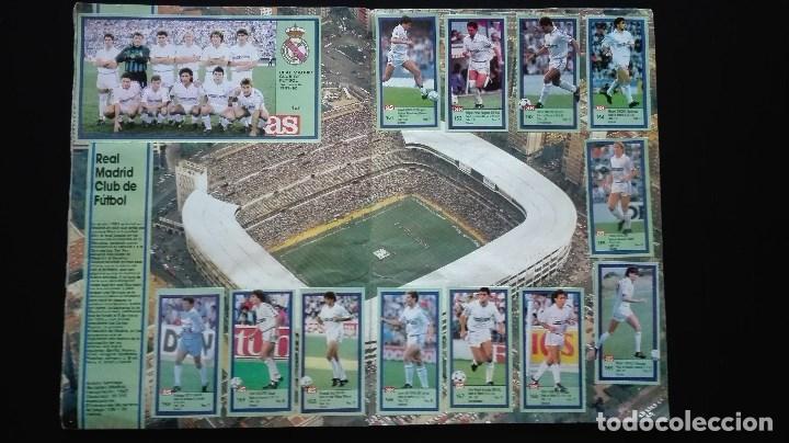 Álbum de fútbol completo: ALBUM CROMOS LIGA 89-90 - Foto 16 - 151609346