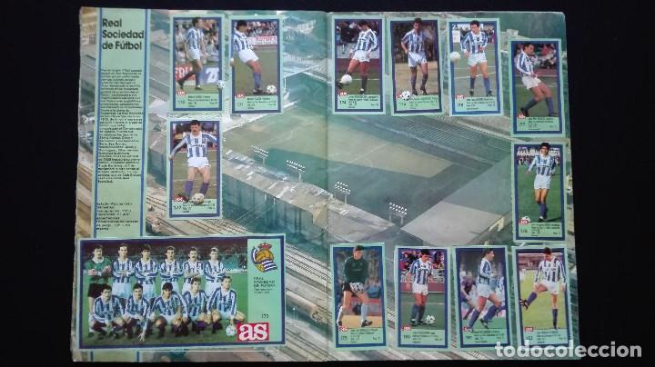 Álbum de fútbol completo: ALBUM CROMOS LIGA 89-90 - Foto 17 - 151609346
