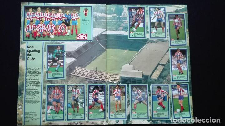 Álbum de fútbol completo: ALBUM CROMOS LIGA 89-90 - Foto 19 - 151609346