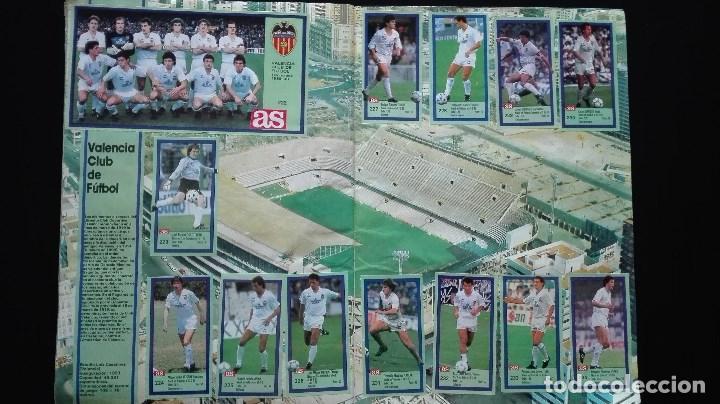 Álbum de fútbol completo: ALBUM CROMOS LIGA 89-90 - Foto 21 - 151609346