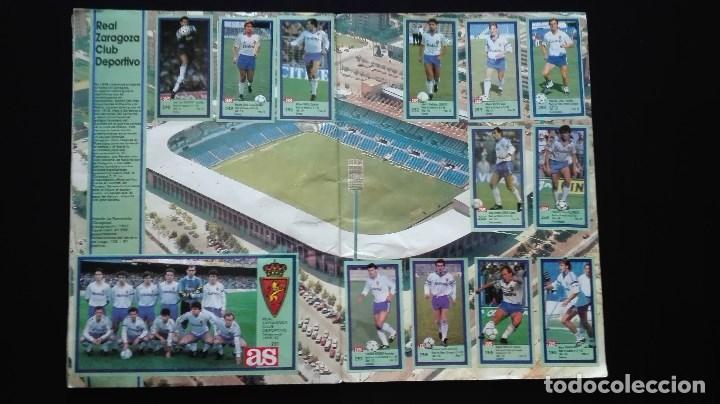 Álbum de fútbol completo: ALBUM CROMOS LIGA 89-90 - Foto 23 - 151609346