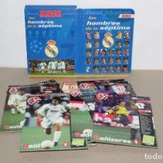 Álbum de fútbol completo: REAL MADRID, LOS HOMBRES DE LA SEPTIMA (27 FICHAS, COMPLETO) - DIARIO MARCA . Lote 151630266