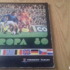 Álbum de fútbol completo: ALBUM COMPLETO EURO 80 EUROCOPA 1980 PANINI. Lote 151696370