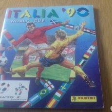 Álbum de fútbol completo: ALBUM COMPLETO MUNDIAL ITALIA 90 1990 PANINI. Lote 151699788