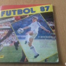 Álbum de fútbol completo: ALBUM COMPLETO FUTBOL LIGA 87 1987 PANINI. Lote 151701462