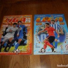 Álbum de fútbol completo: 2 ALBUM ALBUMES ESTE LIGA 2009-2010, 09-10, 2009-10. Y 10 11 2010 2011 COMPLETO MIRA FOTOS . Lote 152135070