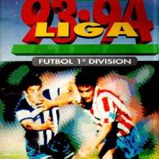 Álbum de fútbol completo: ALBUM COMPLETO. LIGA 93-94. ESTE. UN CROMO POR CASILLA MAS 65 CROMOS SUELTOS PERFECTO ESTADO.. Lote 152729546