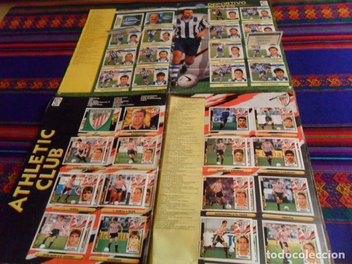 Álbum de fútbol completo: ESTE LIGA 97 98 1997 1998 COMPLETO Y ESTE LIGA 99 1999 2000 COMPLETO. REGALO GUÍA ADRENALYN 17 18. - Foto 3 - 152734470