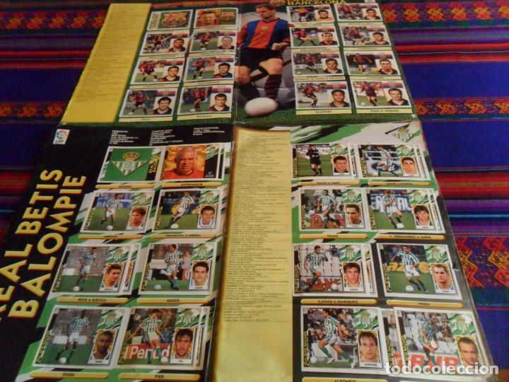 Álbum de fútbol completo: ESTE LIGA 97 98 1997 1998 COMPLETO Y ESTE LIGA 99 1999 2000 COMPLETO. REGALO GUÍA ADRENALYN 17 18. - Foto 5 - 152734470