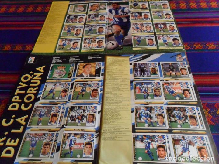 Álbum de fútbol completo: ESTE LIGA 97 98 1997 1998 COMPLETO Y ESTE LIGA 99 1999 2000 COMPLETO. REGALO GUÍA ADRENALYN 17 18. - Foto 8 - 152734470