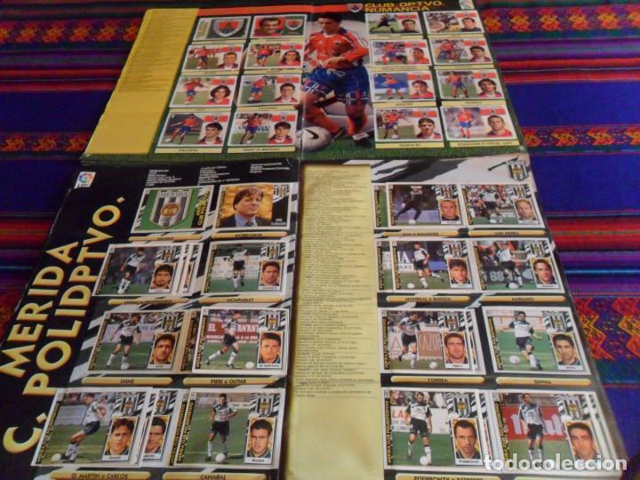 Álbum de fútbol completo: ESTE LIGA 97 98 1997 1998 COMPLETO Y ESTE LIGA 99 1999 2000 COMPLETO. REGALO GUÍA ADRENALYN 17 18. - Foto 14 - 152734470