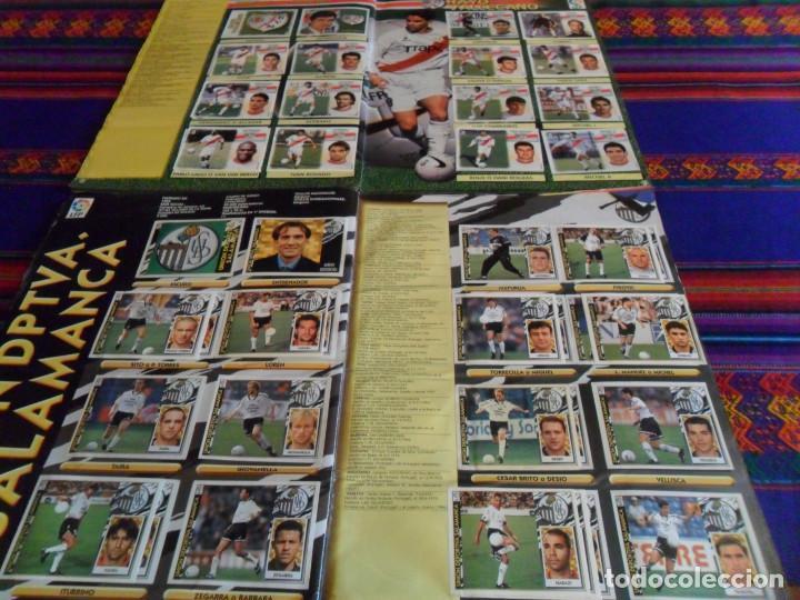 Álbum de fútbol completo: ESTE LIGA 97 98 1997 1998 COMPLETO Y ESTE LIGA 99 1999 2000 COMPLETO. REGALO GUÍA ADRENALYN 17 18. - Foto 17 - 152734470