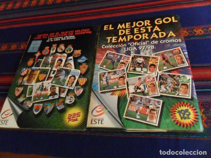 Álbum de fútbol completo: ESTE LIGA 97 98 1997 1998 COMPLETO Y ESTE LIGA 99 1999 2000 COMPLETO. REGALO GUÍA ADRENALYN 17 18. - Foto 25 - 152734470
