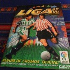 Álbum de fútbol completo: LIGA ESTE 97 98 1997 1998 MUY COMPLETO. REGALO ESTE LIGA 2017 2018 INCOMPLETO. . Lote 152735590