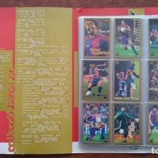 Album de football complet: COLLECIO BARÇA OR/ COLECCION BARÇA ORO MUNDO DEPORTIVO CROMOS AÑO 1995.COMPLETA. Lote 152765558