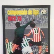 Álbum di calcio completo: FACSIMIL CAMPEONATO NACIONAL DE LA LIGA DE 1972 1973 SALVAT COLECCIONES ESTE PANINI. Lote 153079410
