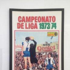 Álbum de fútbol completo: FACSIMIL CAMPEONATO NACIONAL DE LA LIGA DE 1973 1974 SALVAT COLECCIONES ESTE PANINI. Lote 153079858