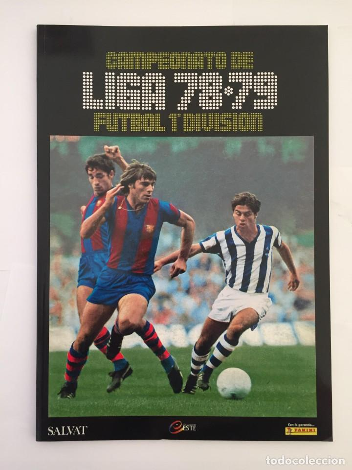 FACSIMIL CAMPEONATO NACIONAL DE LA LIGA DE 1978 1979 SALVAT COLECCIONES ESTE PANINI (Coleccionismo Deportivo - Álbumes y Cromos de Deportes - Álbumes de Fútbol Completos)