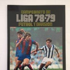 Álbum de fútbol completo: FACSIMIL CAMPEONATO NACIONAL DE LA LIGA DE 1978 1979 SALVAT COLECCIONES ESTE PANINI. Lote 153082366