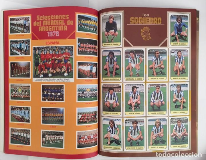 Álbum de fútbol completo: FACSIMIL CAMPEONATO NACIONAL DE LA LIGA DE 1978 1979 SALVAT COLECCIONES ESTE PANINI - Foto 2 - 153082366