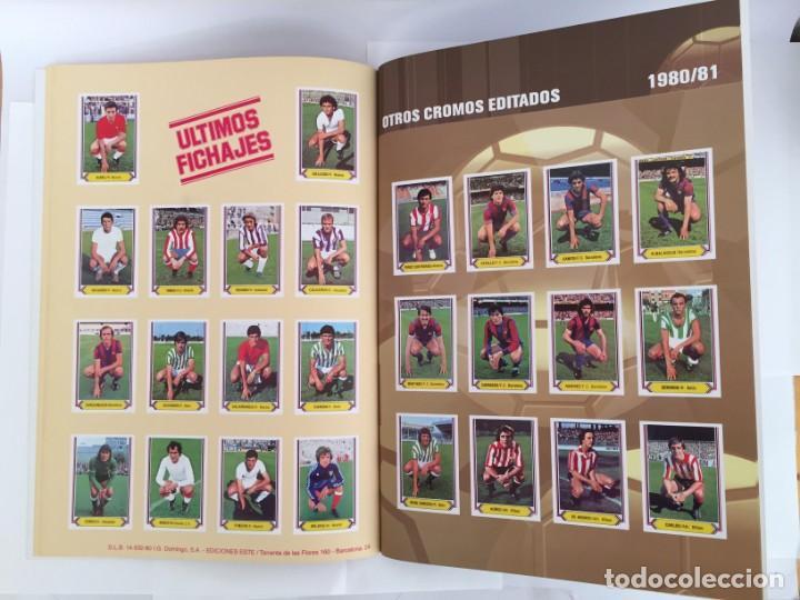 Álbum de fútbol completo: FACSIMIL CAMPEONATO NACIONAL DE LA LIGA DE 1980 1981 SALVAT COLECCIONES ESTE PANINI - Foto 3 - 153082902