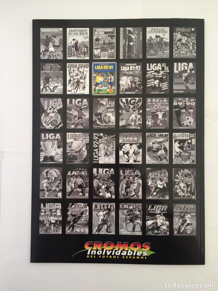 Álbum de fútbol completo: FACSIMIL CAMPEONATO NACIONAL DE LA LIGA DE 1980 1981 SALVAT COLECCIONES ESTE PANINI - Foto 9 - 153082902