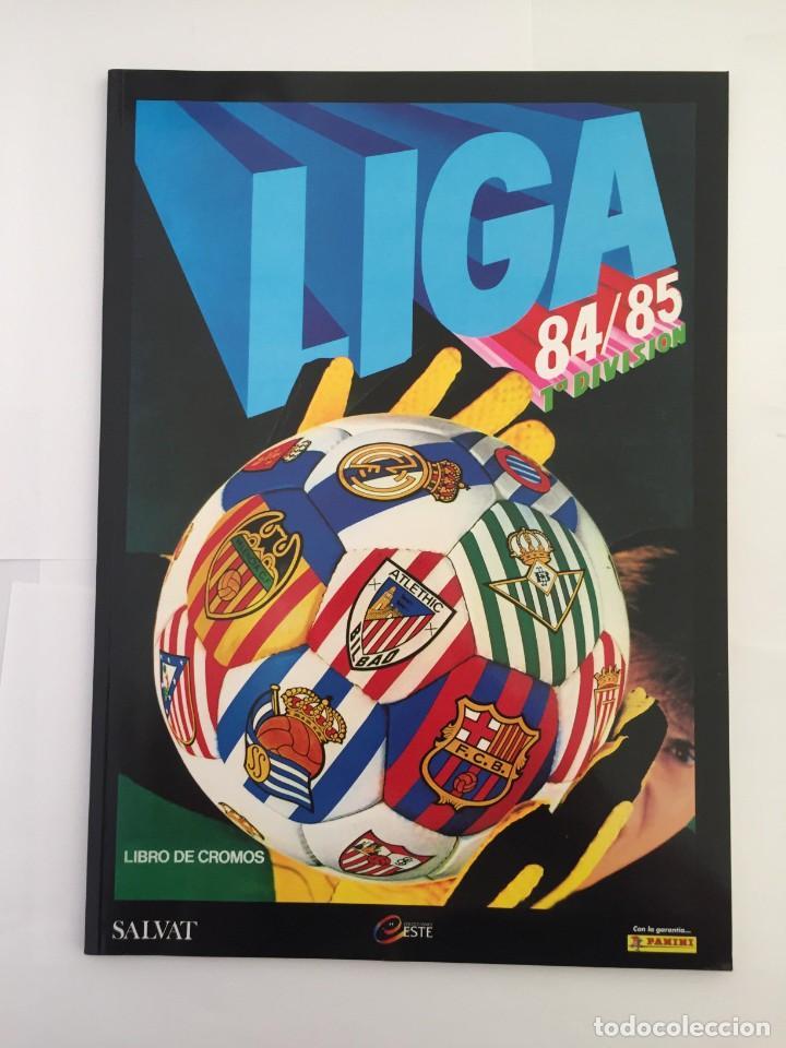 FACSIMIL CAMPEONATO NACIONAL DE LA LIGA DE 1984 1985 SALVAT COLECCIONES ESTE PANINI (Coleccionismo Deportivo - Álbumes y Cromos de Deportes - Álbumes de Fútbol Completos)