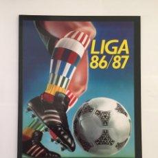 Álbum de fútbol completo: FACSIMIL CAMPEONATO NACIONAL DE LA LIGA DE 1986 1987 SALVAT COLECCIONES ESTE PANINI. Lote 153084558