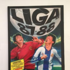 Álbum de fútbol completo: FACSIMIL CAMPEONATO NACIONAL DE LA LIGA DE 1987 1988 SALVAT COLECCIONES ESTE PANINI. Lote 153084854