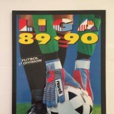 Álbum de fútbol completo: FACSIMIL CAMPEONATO NACIONAL DE LA LIGA DE 1989 1990 SALVAT COLECCIONES ESTE PANINI. Lote 153085466