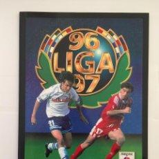 Álbum de fútbol completo: FACSIMIL CAMPEONATO NACIONAL DE LA LIGA DE 1996 1997 SALVAT COLECCIONES ESTE PANINI. Lote 153093514