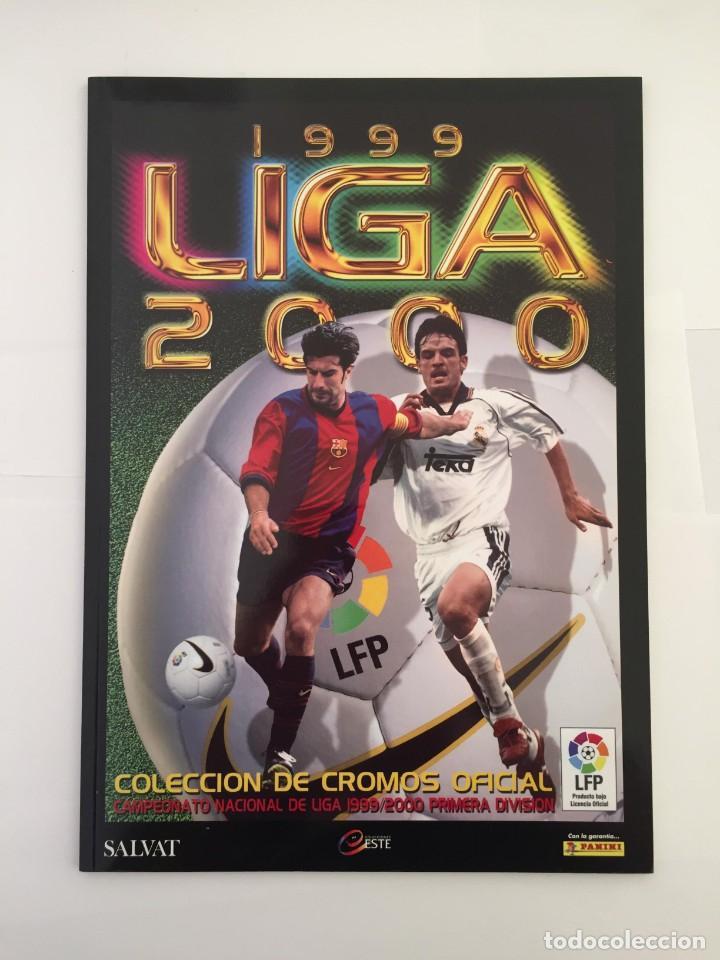 FACSIMIL CAMPEONATO NACIONAL DE LA LIGA DE 1999 2000 SALVAT COLECCIONES ESTE PANINI (Coleccionismo Deportivo - Álbumes y Cromos de Deportes - Álbumes de Fútbol Completos)