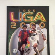Álbum de fútbol completo: FACSIMIL CAMPEONATO NACIONAL DE LA LIGA DE 1999 2000 SALVAT COLECCIONES ESTE PANINI. Lote 153094250