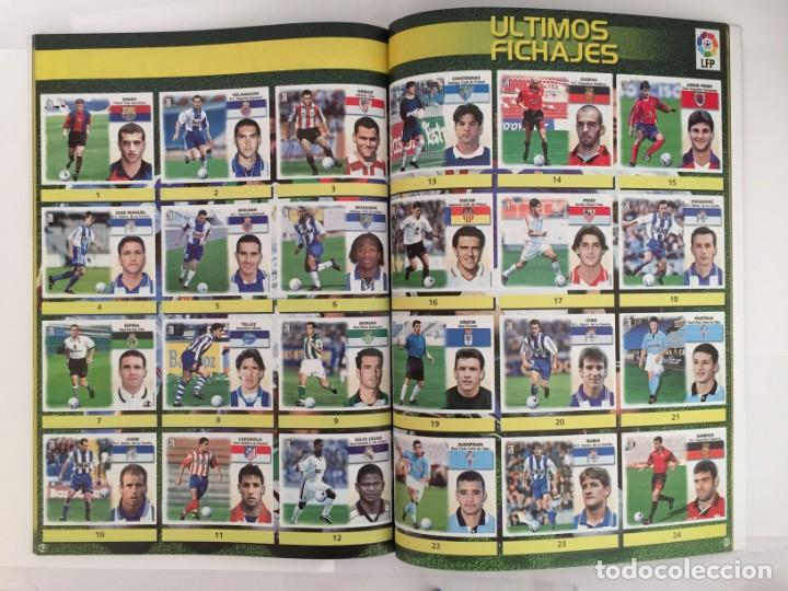 Álbum de fútbol completo: FACSIMIL CAMPEONATO NACIONAL DE LA LIGA DE 1999 2000 SALVAT COLECCIONES ESTE PANINI - Foto 3 - 153094250