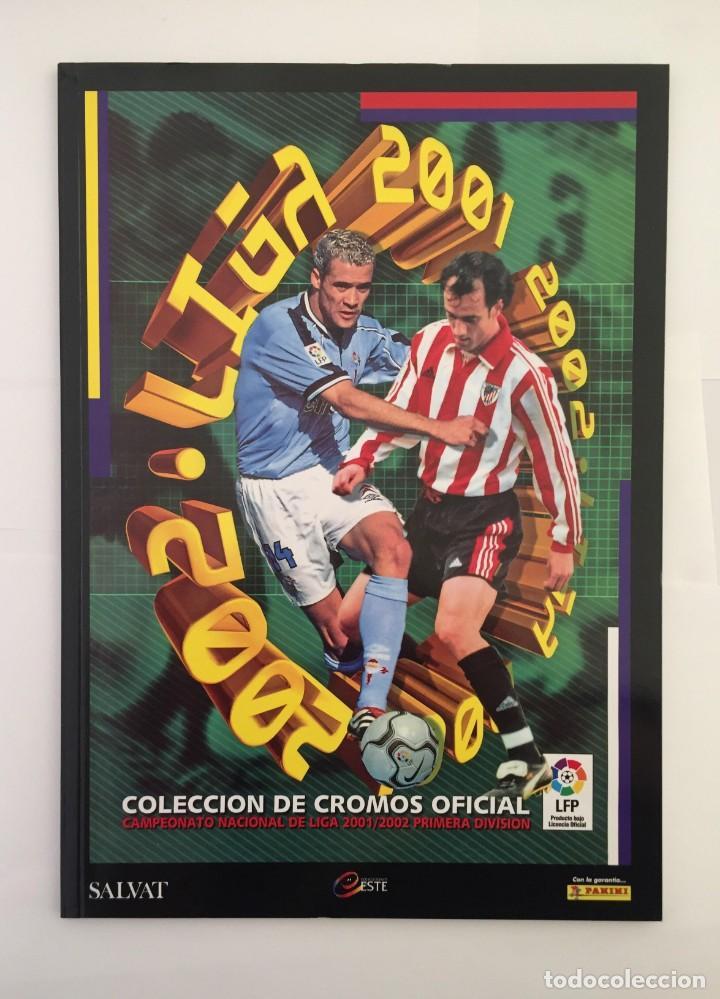 FACSIMIL CAMPEONATO NACIONAL DE LA LIGA DE 2001 2002 SALVAT COLECCIONES ESTE PANINI (Coleccionismo Deportivo - Álbumes y Cromos de Deportes - Álbumes de Fútbol Completos)