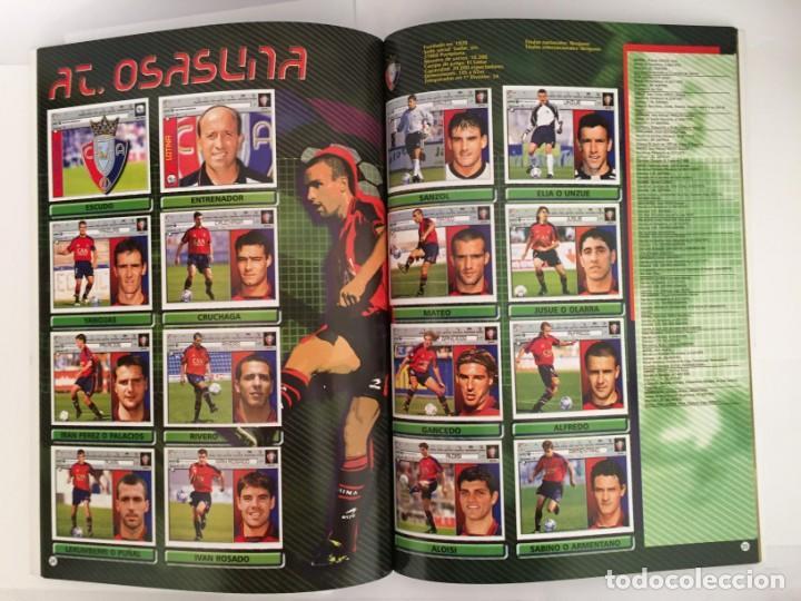 Álbum de fútbol completo: FACSIMIL CAMPEONATO NACIONAL DE LA LIGA DE 2001 2002 SALVAT COLECCIONES ESTE PANINI - Foto 2 - 153094886