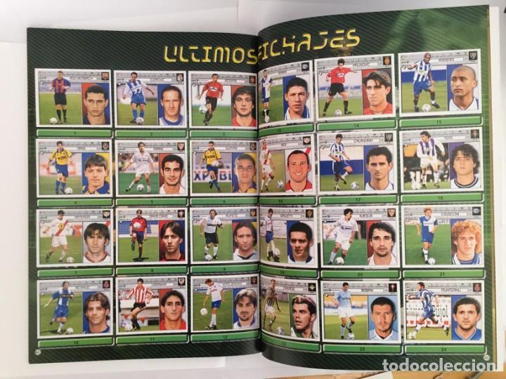 Álbum de fútbol completo: FACSIMIL CAMPEONATO NACIONAL DE LA LIGA DE 2001 2002 SALVAT COLECCIONES ESTE PANINI - Foto 8 - 153094886