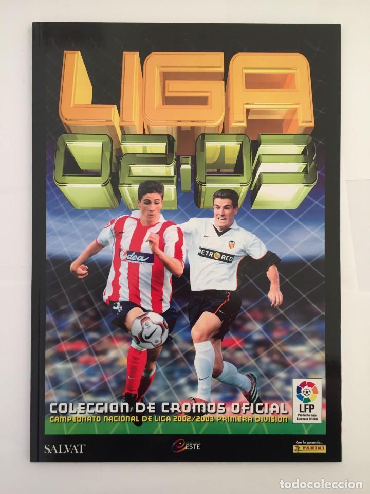 FACSIMIL CAMPEONATO NACIONAL DE LA LIGA DE 2002 2003 SALVAT COLECCIONES ESTE PANINI (Coleccionismo Deportivo - Álbumes y Cromos de Deportes - Álbumes de Fútbol Completos)