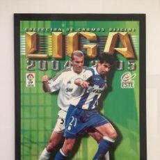 Álbum de fútbol completo: FACSIMIL CAMPEONATO NACIONAL DE LA LIGA DE 2004 2005 SALVAT COLECCIONES ESTE PANINI. Lote 153096214
