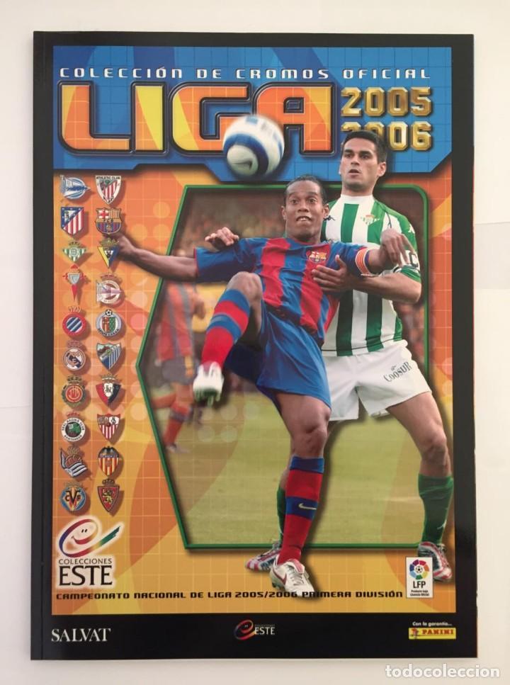 FACSIMIL CAMPEONATO NACIONAL DE LA LIGA DE 2005 2006 SALVAT COLECCIONES ESTE PANINI (Coleccionismo Deportivo - Álbumes y Cromos de Deportes - Álbumes de Fútbol Completos)
