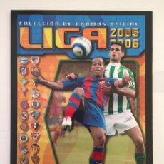 Álbum de fútbol completo: FACSIMIL CAMPEONATO NACIONAL DE LA LIGA DE 2005 2006 SALVAT COLECCIONES ESTE PANINI. Lote 153096538