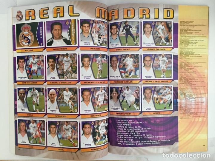 Álbum de fútbol completo: FACSIMIL CAMPEONATO NACIONAL DE LA LIGA DE 2005 2006 SALVAT COLECCIONES ESTE PANINI - Foto 2 - 153096538