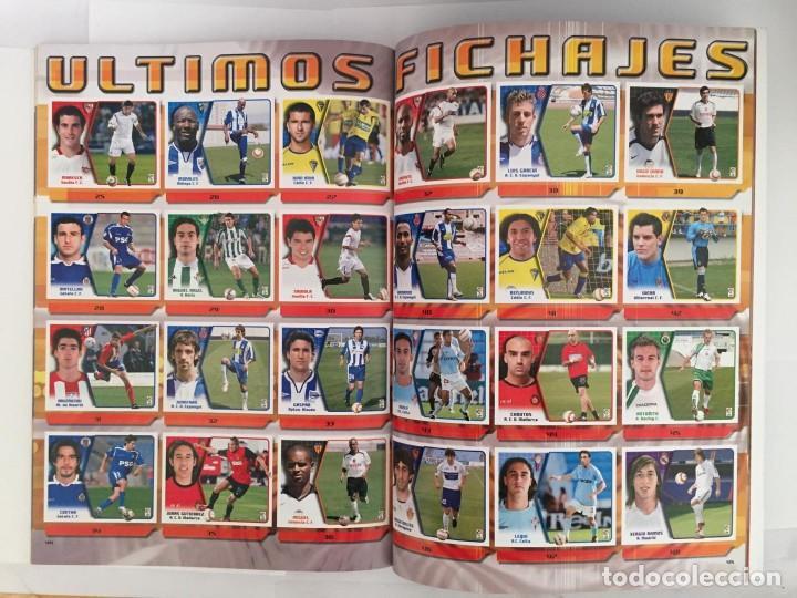 Álbum de fútbol completo: FACSIMIL CAMPEONATO NACIONAL DE LA LIGA DE 2005 2006 SALVAT COLECCIONES ESTE PANINI - Foto 5 - 153096538