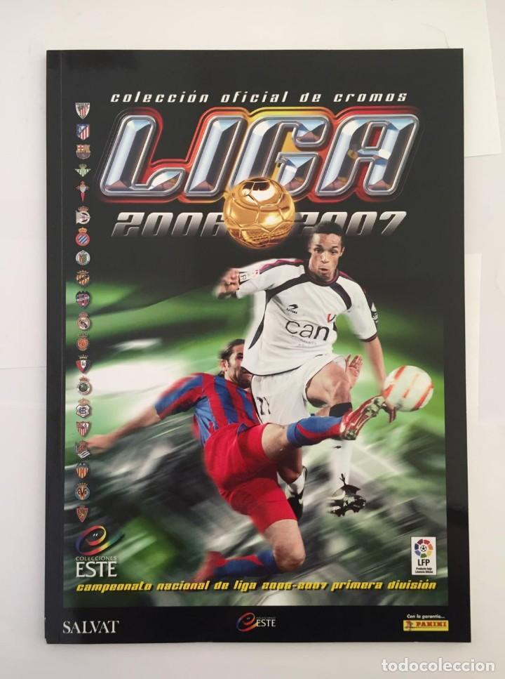 FACSIMIL CAMPEONATO NACIONAL DE LA LIGA DE 2006 2007 SALVAT COLECCIONES ESTE PANINI (Coleccionismo Deportivo - Álbumes y Cromos de Deportes - Álbumes de Fútbol Completos)